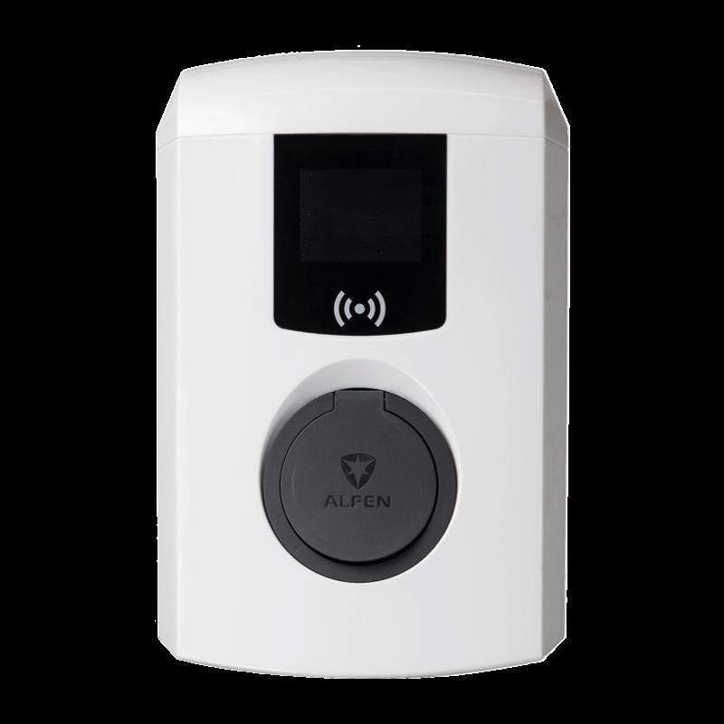 Alfen 1-fas 7,4 kW Eve Single Pro-Line Laddbox