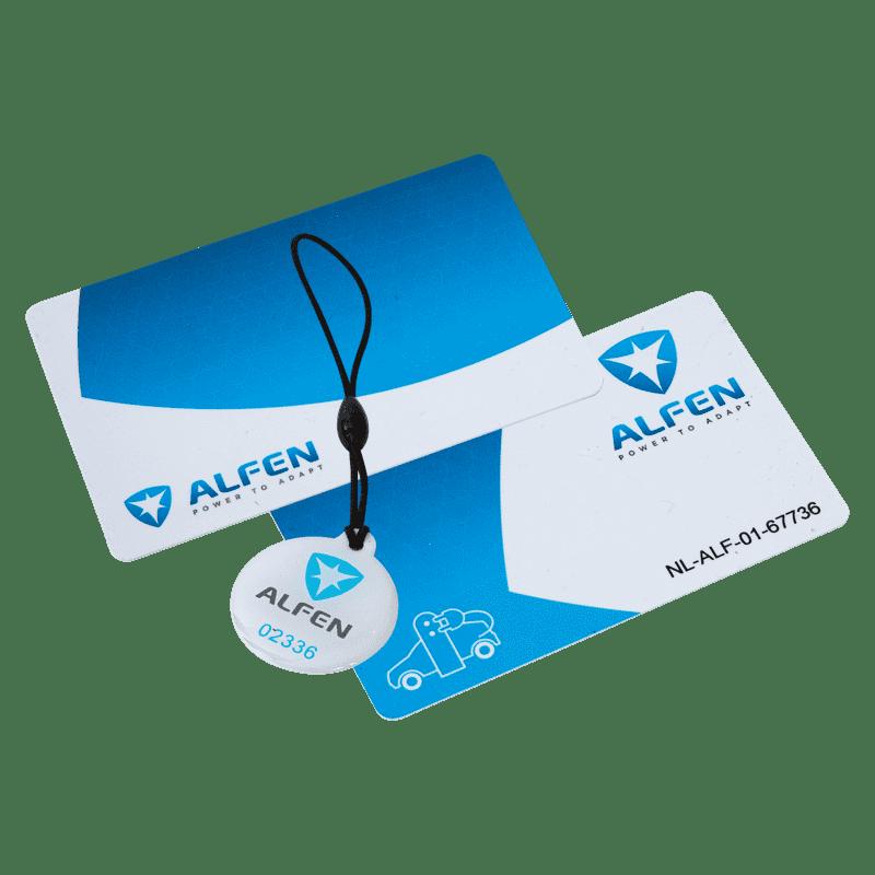 Alfen Upplåsning av RFID-läsaren med två RFID-kort