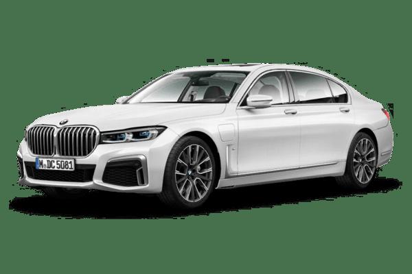 Laddningstid BMW 745e Ladda hemma