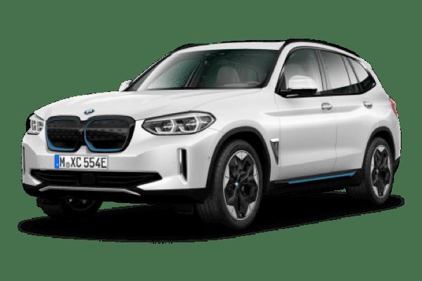Laddningstid BMW iX3 Ladda hemma