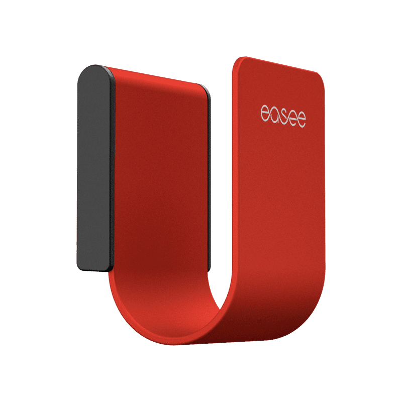 Easee U-Hook Kabelhållare Röd
