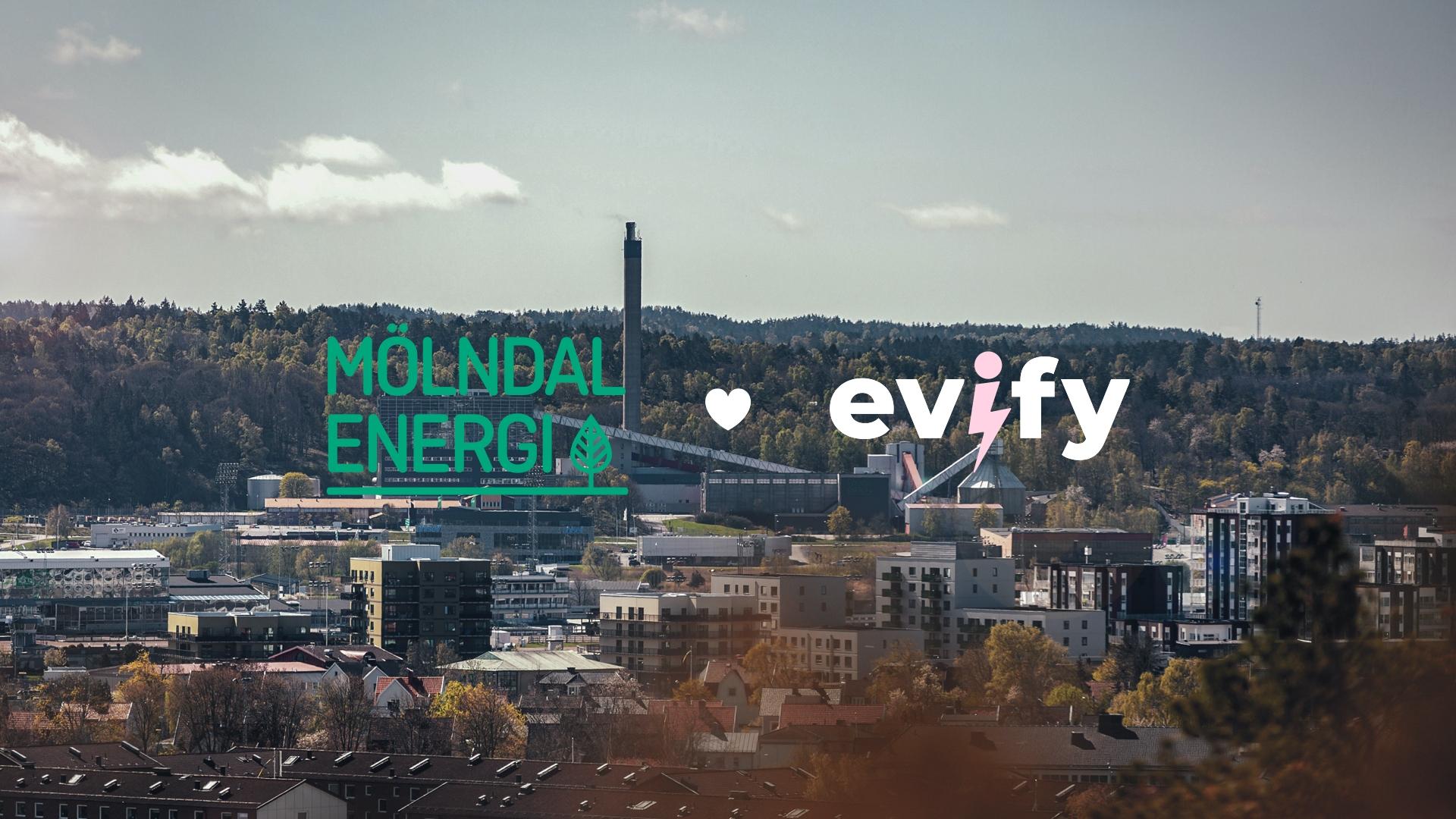 Mölndal Energi och Evify ingår nytt samarbete