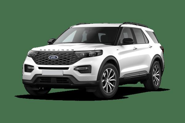 Laddningstid Ford Explorer Ladda hemma
