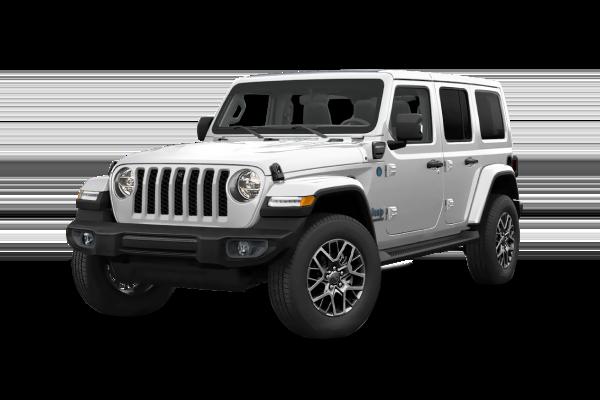 Laddningstid Jeep Wrangler 4xe Ladda hemma