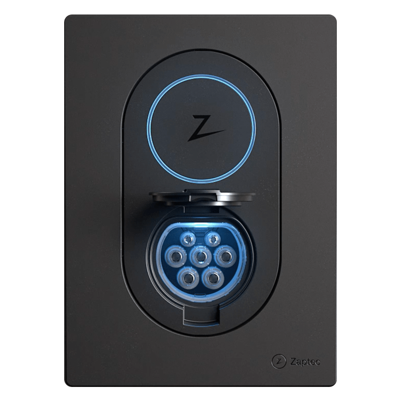 Zaptec Go Laddbox 22 kW Laddkabel