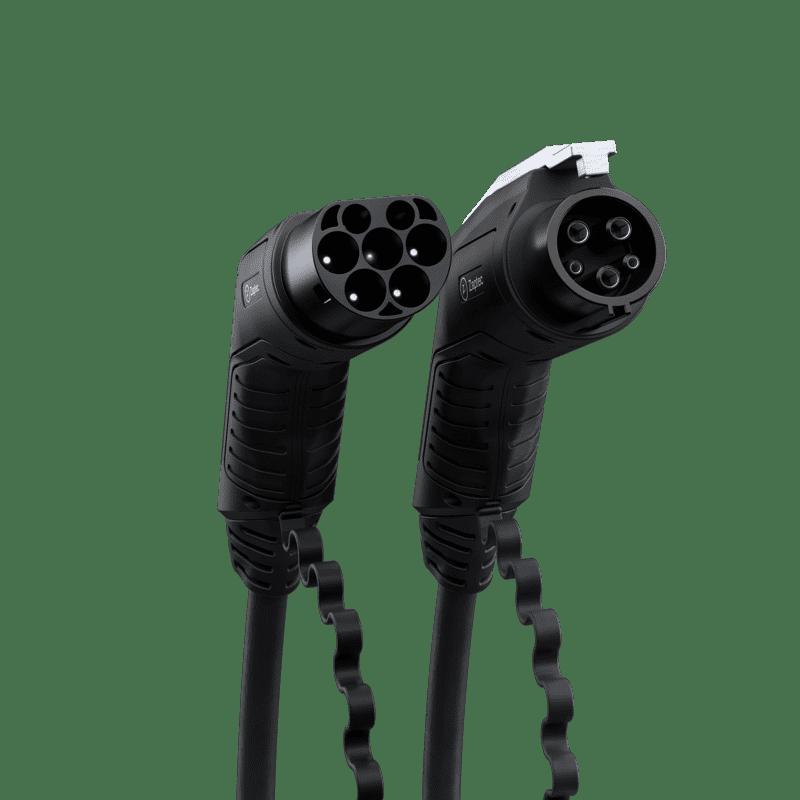 Zaptec Laddkabel Typ 1, 1-fas 32A, 7,4 kW - 7,5m