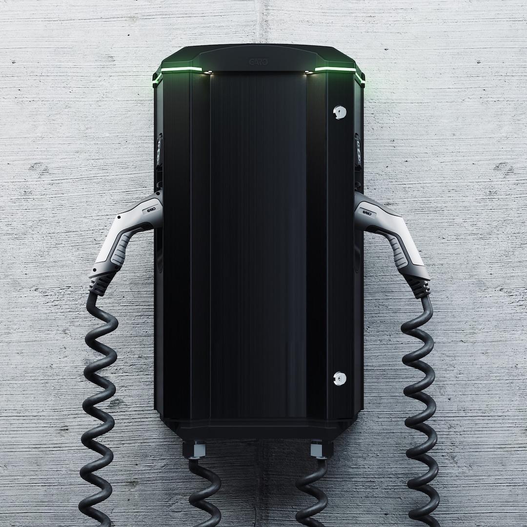 Garo GTB Laddbox Dubbla kablar 11 kW